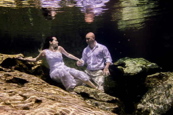 Trash the Dress Subacuático Roc´n´Love Photography