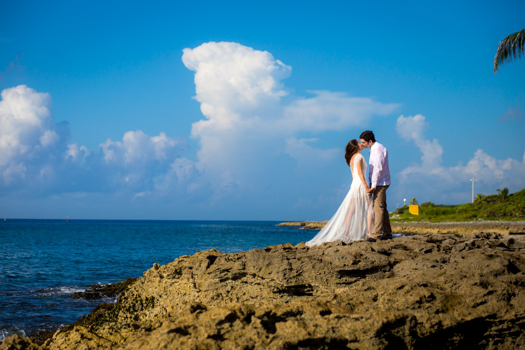 Xcaret wedding photographer cancun