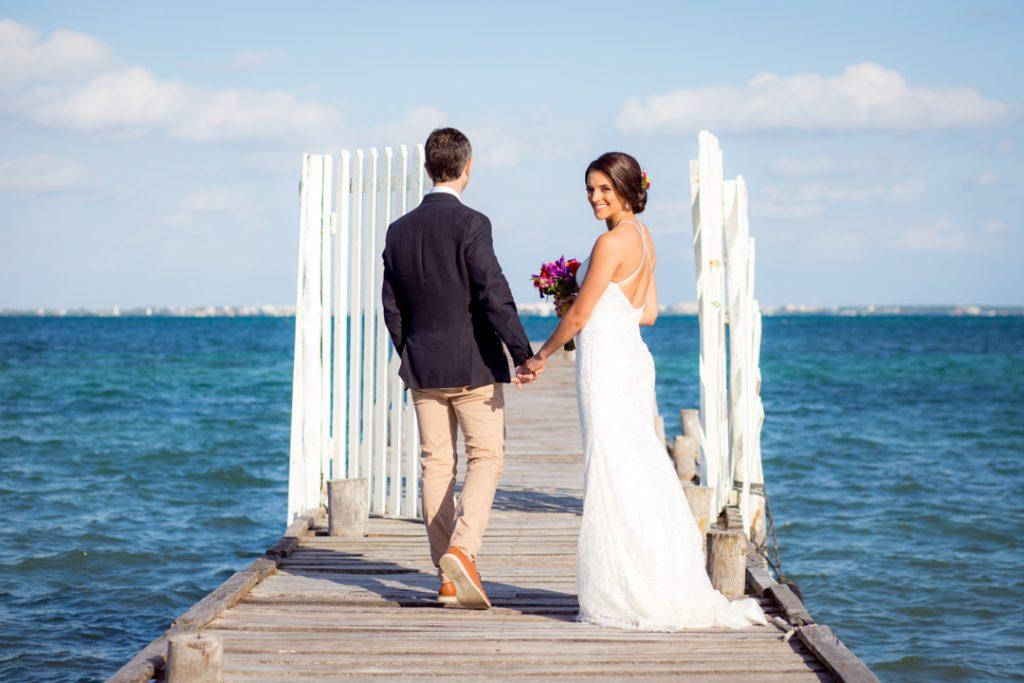wedding photographer cancun beach